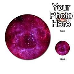Rosette Nebula 1 Multi Purpose Cards (round)  by trendistuff