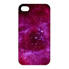 Rosette Nebula 1 Apple Iphone 4/4s Premium Hardshell Case by trendistuff