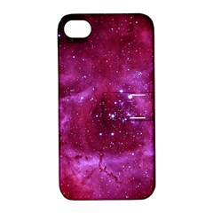 Rosette Nebula 1 Apple Iphone 4/4s Hardshell Case With Stand by trendistuff