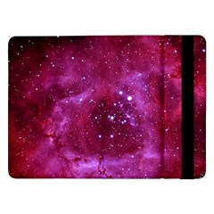 Rosette Nebula 1 Samsung Galaxy Tab Pro 12 2  Flip Case by trendistuff