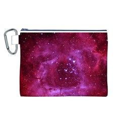 Rosette Nebula 1 Canvas Cosmetic Bag (l) by trendistuff