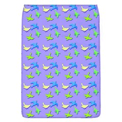 Blue And Green Birds Pattern Flap Covers (l)