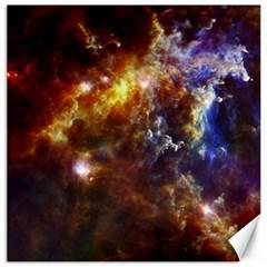 Rosette Cloud Canvas 20  X 20   by trendistuff