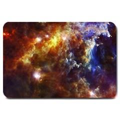 Rosette Cloud Large Doormat  by trendistuff