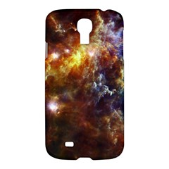 Rosette Cloud Samsung Galaxy S4 I9500/i9505 Hardshell Case by trendistuff