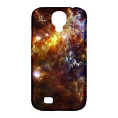 Rosette Cloud Samsung Galaxy S4 Classic Hardshell Case (pc+silicone) by trendistuff