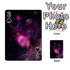 Purple Clouds Playing Cards 54 Designs