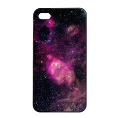Purple Clouds Apple Iphone 4/4s Seamless Case (black) by trendistuff