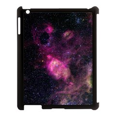 Purple Clouds Apple Ipad 3/4 Case (black) by trendistuff