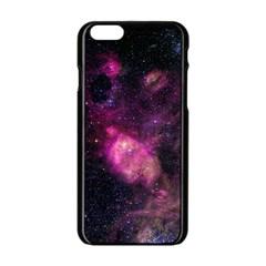 Purple Clouds Apple Iphone 6/6s Black Enamel Case by trendistuff