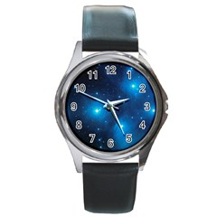 Pleiades Round Metal Watches by trendistuff