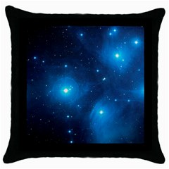 Pleiades Throw Pillow Cases (black) by trendistuff