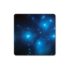 Pleiades Square Magnet by trendistuff