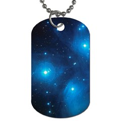 Pleiades Dog Tag (one Side) by trendistuff
