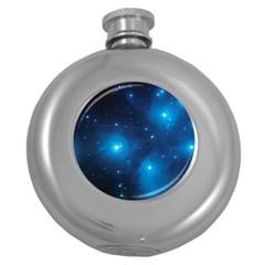 Pleiades Round Hip Flask (5 Oz) by trendistuff