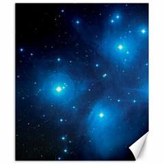 Pleiades Canvas 20  X 24   by trendistuff