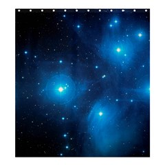 Pleiades Shower Curtain 66  X 72  (large)  by trendistuff