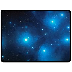 Pleiades Fleece Blanket (large)  by trendistuff