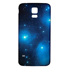 Pleiades Samsung Galaxy S5 Back Case (white) by trendistuff