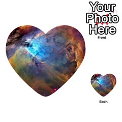 Orion Nebula Multi Purpose Cards (heart)