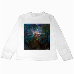 Mystic Mountain Kids Long Sleeve T Shirts by trendistuff