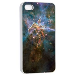 Mystic Mountain Apple Iphone 4/4s Seamless Case (white) by trendistuff