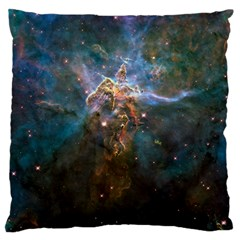 Mystic Mountain Large Flano Cushion Cases (two Sides)  by trendistuff