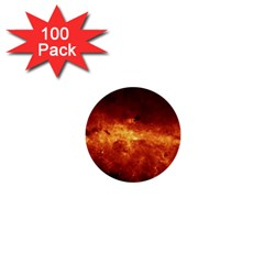 Milky Way Clouds 1  Mini Buttons (100 Pack)  by trendistuff
