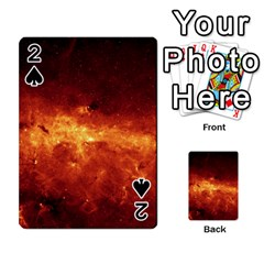 Milky Way Clouds Playing Cards 54 Designs  by trendistuff