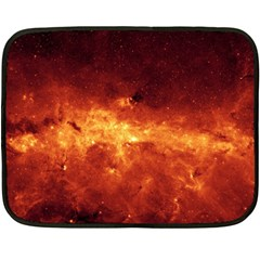 Milky Way Clouds Fleece Blanket (mini) by trendistuff