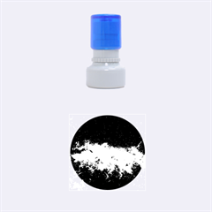 Milky Way Clouds Rubber Round Stamps (small) by trendistuff