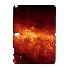 Milky Way Clouds Samsung Galaxy Note 10 1 (p600) Hardshell Case by trendistuff