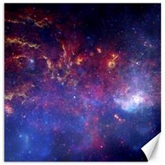 Milky Way Center Canvas 12  X 12   by trendistuff