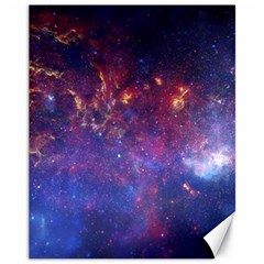 MILKY WAY CENTER Canvas 11  x 14   by trendistuff