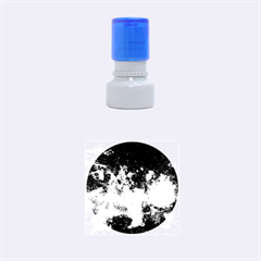 Milky Way Center Rubber Round Stamps (small)
