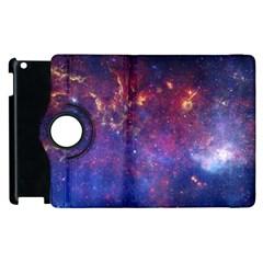 Milky Way Center Apple Ipad 2 Flip 360 Case by trendistuff