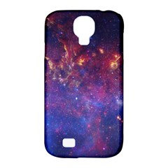 Milky Way Center Samsung Galaxy S4 Classic Hardshell Case (pc+silicone) by trendistuff