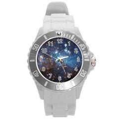 Lh 95 Round Plastic Sport Watch (l) by trendistuff
