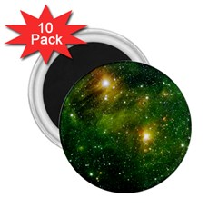 Hydrocarbons In Space 2 25  Magnets (10 Pack)  by trendistuff