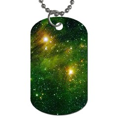 Hydrocarbons In Space Dog Tag (two Sides) by trendistuff