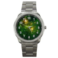 Hydrocarbons In Space Sport Metal Watches by trendistuff