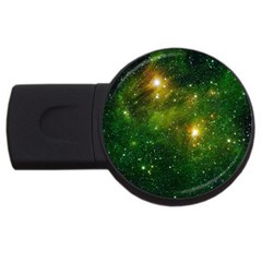 Hydrocarbons In Space Usb Flash Drive Round (4 Gb)  by trendistuff
