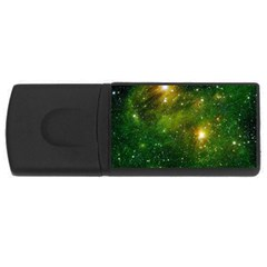 Hydrocarbons In Space Usb Flash Drive Rectangular (4 Gb)  by trendistuff