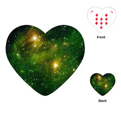 HYDROCARBONS IN SPACE Playing Cards (Heart)  by trendistuff