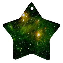Hydrocarbons In Space Star Ornament (two Sides)  by trendistuff
