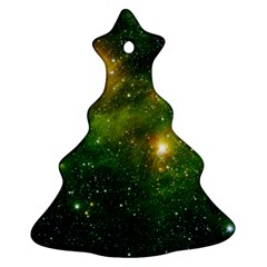 Hydrocarbons In Space Christmas Tree Ornament (2 Sides) by trendistuff