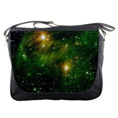Hydrocarbons In Space Messenger Bags by trendistuff
