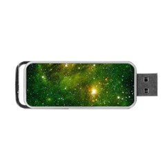 Hydrocarbons In Space Portable Usb Flash (two Sides) by trendistuff