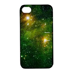 Hydrocarbons In Space Apple Iphone 4/4s Hardshell Case With Stand by trendistuff