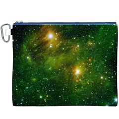 HYDROCARBONS IN SPACE Canvas Cosmetic Bag (XXXL)  by trendistuff